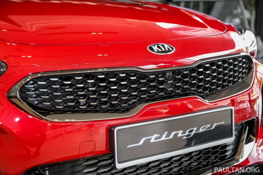 Kia Stinger launched in Malaysia – 251 hp 2.0 GT Line and 365 hp 3.3 V6 GT, CBU, RWD, RM240k to RM310k Image #837087