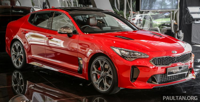 Kia Stinger launched in Malaysia – 251 hp 2.0 GT Line and 365 hp 3.3 V6 GT, CBU, RWD, RM240k to RM310k Image #837078