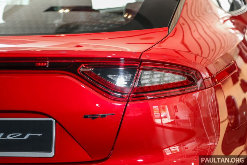 Kia Stinger launched in Malaysia – 251 hp 2.0 GT-Line and 365 hp 3.3 V6 GT, CBU, RWD, RM240k to RM310k Image #837100