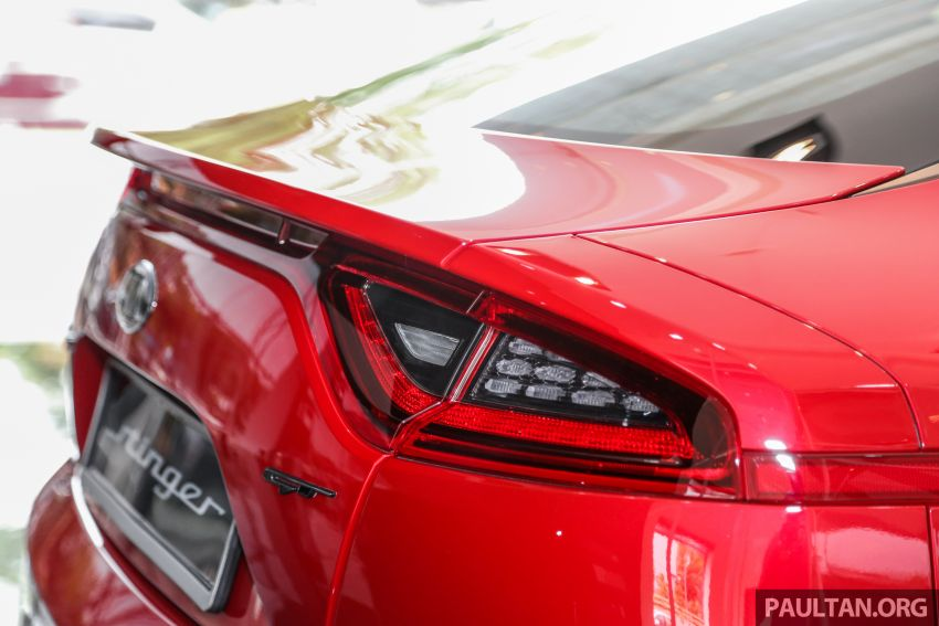 Kia Stinger launched in Malaysia – 251 hp 2.0 GT Line and 365 hp 3.3 V6 GT, CBU, RWD, RM240k to RM310k Image #837101