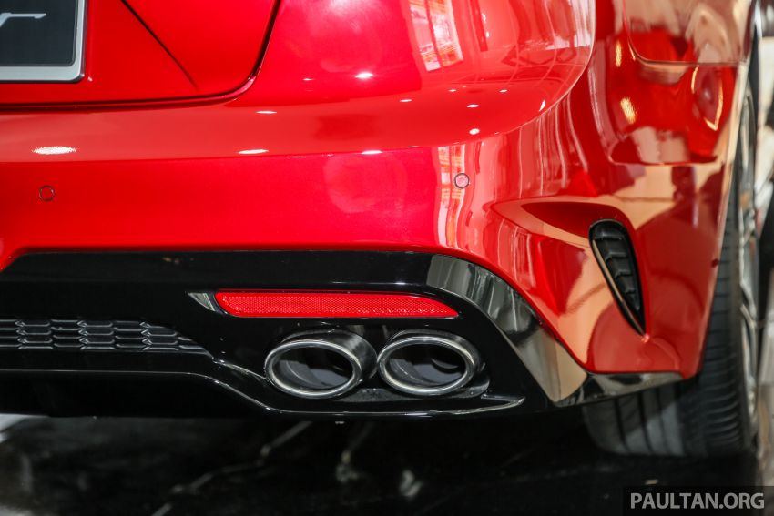 Kia Stinger launched in Malaysia – 251 hp 2.0 GT Line and 365 hp 3.3 V6 GT, CBU, RWD, RM240k to RM310k Image #837102