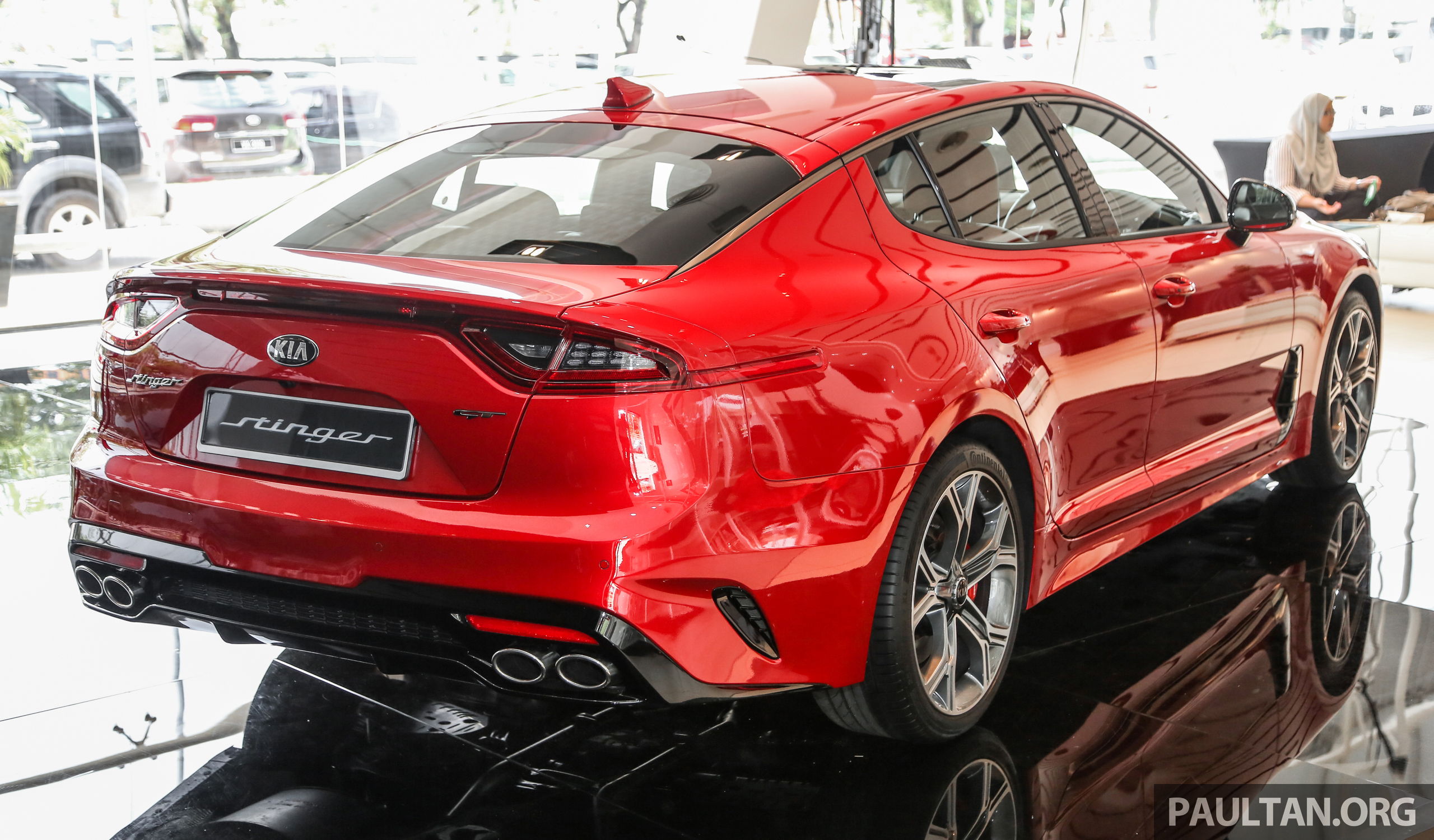 kia stinger launched in malaysia 251 hp 2 0 gt line and 365 hp 3 3 v6 gt cbu rwd rm240k to. Black Bedroom Furniture Sets. Home Design Ideas