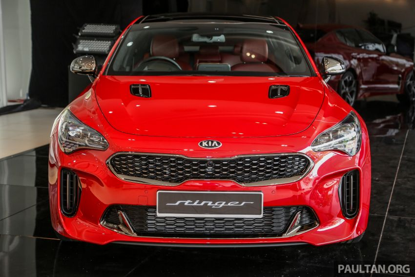 Kia Stinger launched in Malaysia – 251 hp 2.0 GT-Line and 365 hp 3.3 V6 GT, CBU, RWD, RM240k to RM310k Image #837080