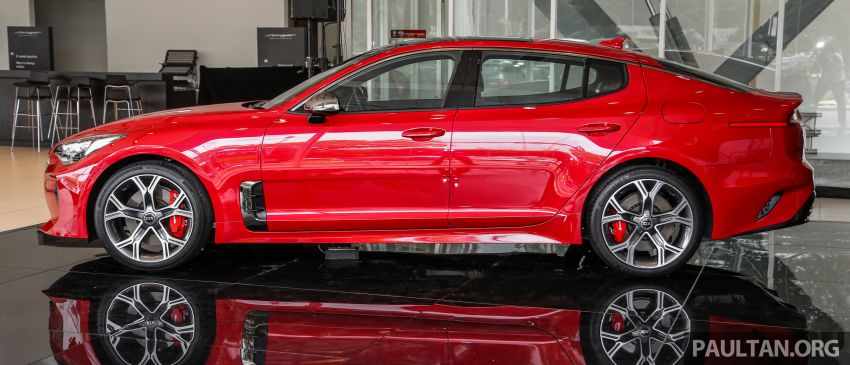 Kia Stinger launched in Malaysia – 251 hp 2.0 GT Line and 365 hp 3.3 V6 GT, CBU, RWD, RM240k to RM310k Image #837082