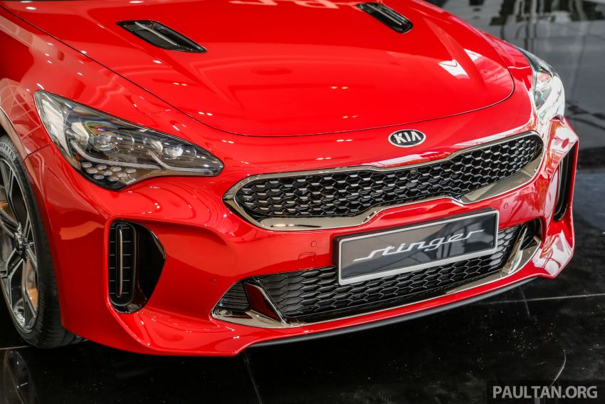 Kia Stinger launched in Malaysia – 251 hp 2.0 GT-Line and 365 hp 3.3 V6 GT, CBU, RWD, RM240k to RM310k Image #837083