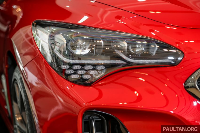 Kia Stinger launched in Malaysia – 251 hp 2.0 GT-Line and 365 hp 3.3 V6 GT, CBU, RWD, RM240k to RM310k Image #837084