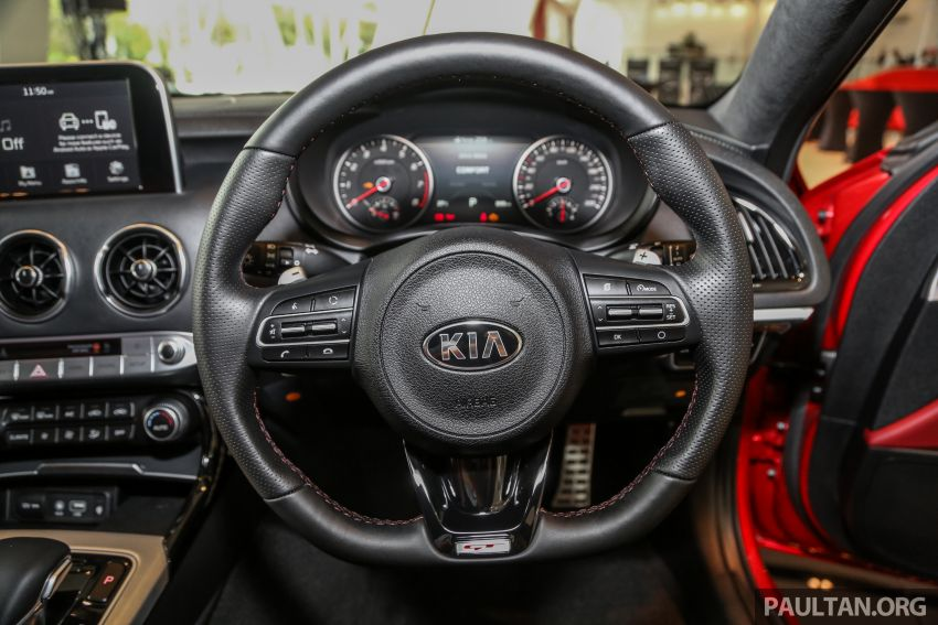 Kia Stinger launched in Malaysia – 251 hp 2.0 GT-Line and 365 hp 3.3 V6 GT, CBU, RWD, RM240k to RM310k Image #837109