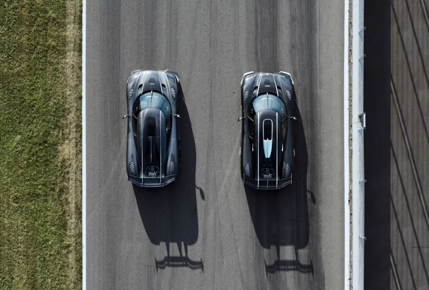 Koenigsegg ends Agera production with Final Edition cars 'Thor' and 'Väder' – successor already teased Image #835861