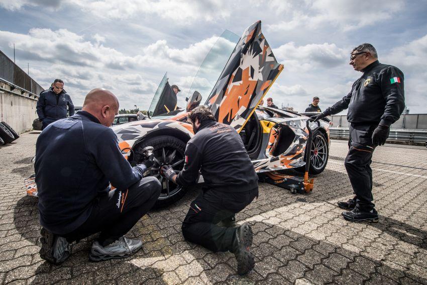 Lamborghini Aventador SVJ sets new Nürburgring record – 6 minutes 44.97 seconds beats the GT2 RS Image #843745