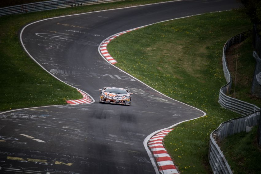 Lamborghini Aventador SVJ sets new Nürburgring record – 6 minutes 44.97 seconds beats the GT2 RS Image #843751