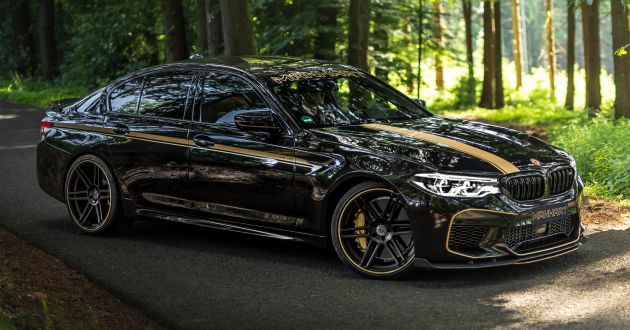 F90 Bmw M5 Boosted To 723 Ps 870 Nm By Manhart