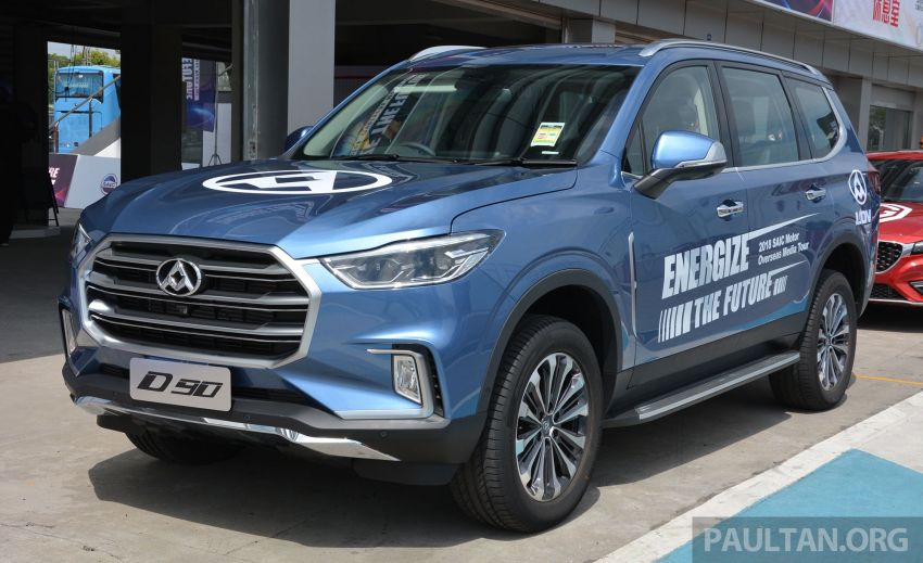 Maxus T60 pick-up truck coming to Malaysia this year, Fortuner-rivalling D90 7-seater SUV possible in 2019 Image #833689