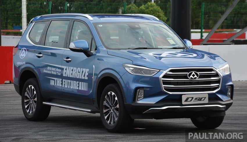 Maxus T60 pick-up truck coming to Malaysia this year, Fortuner-rivalling D90 7-seater SUV possible in 2019 Image #833719