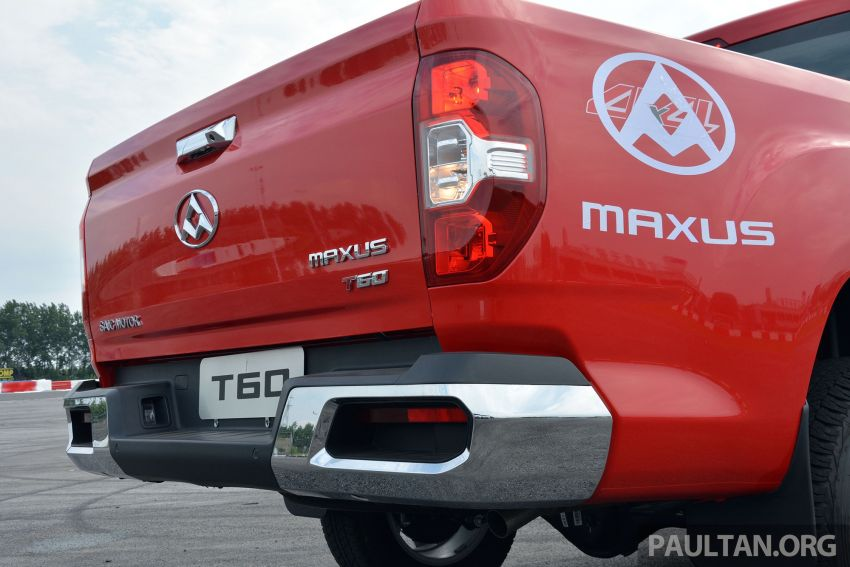 Maxus T60 pick-up truck coming to Malaysia this year, Fortuner-rivalling D90 7-seater SUV possible in 2019 Image #833427