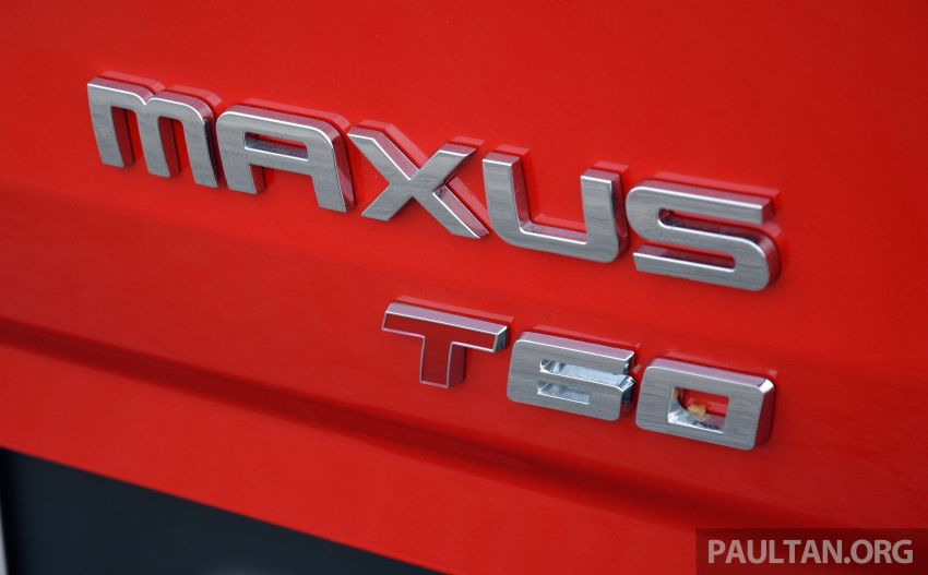 Maxus T60 pick-up truck coming to Malaysia this year, Fortuner-rivalling D90 7-seater SUV possible in 2019 Image #833428