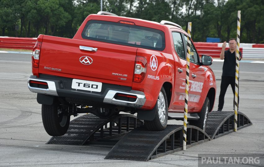 Maxus T60 pick-up truck coming to Malaysia this year, Fortuner-rivalling D90 7-seater SUV possible in 2019 Image #833429