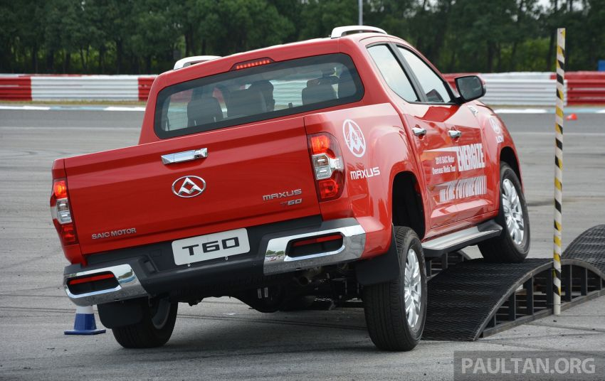 Maxus T60 pick-up truck coming to Malaysia this year, Fortuner-rivalling D90 7-seater SUV possible in 2019 Image #833430