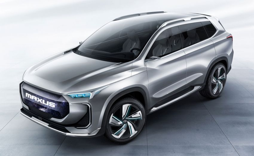 Maxus Tarantula Concept – production midsize SUV confirmed for mid 2019, 80% similar to showcar Image #834312