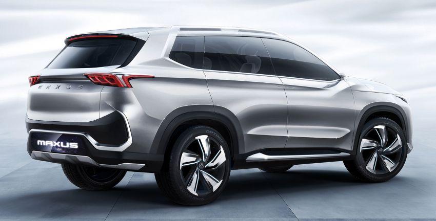Maxus Tarantula Concept – production midsize SUV confirmed for mid 2019, 80% similar to showcar Image #834313