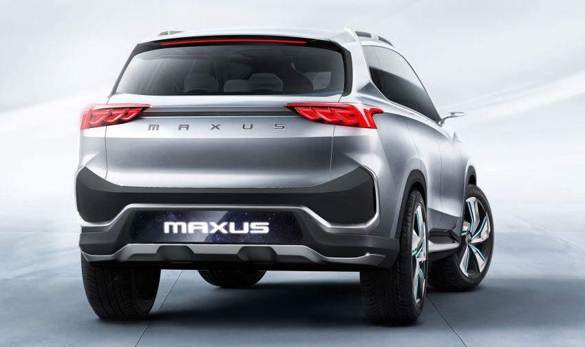 Maxus Tarantula Concept – production midsize SUV confirmed for mid 2019, 80% similar to showcar Image #834315