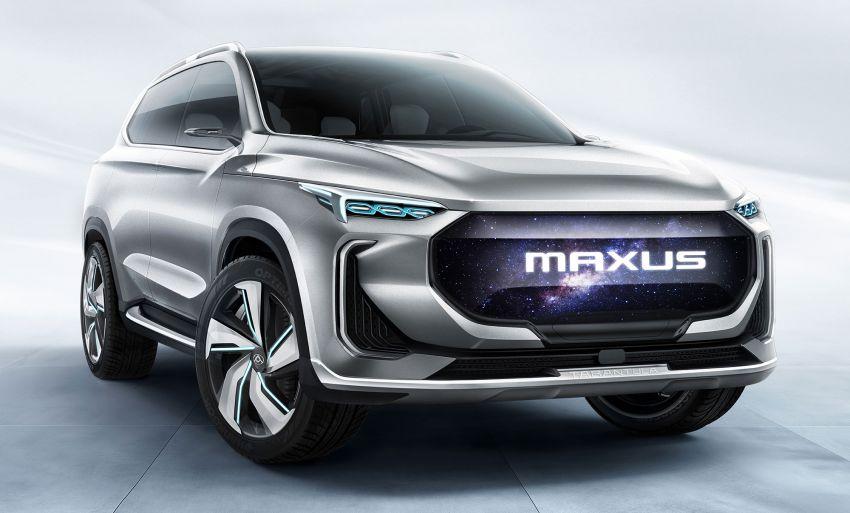 Maxus Tarantula Concept – production midsize SUV confirmed for mid 2019, 80% similar to showcar Image #834319