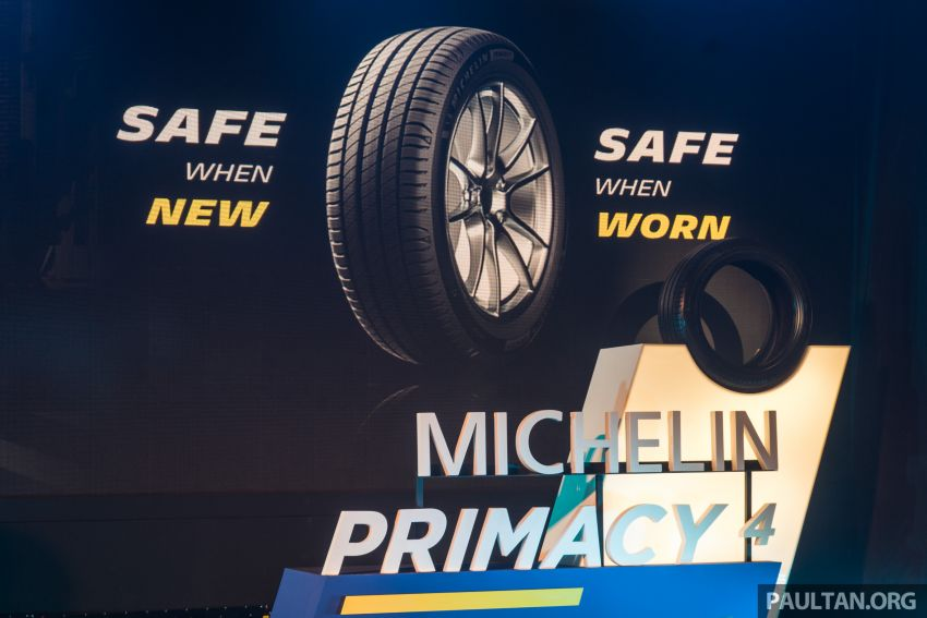 Michelin Primacy 4 launched, claimed to provide safety even when worn – 15- to 18-inch, fr RM444 per piece Image #836974