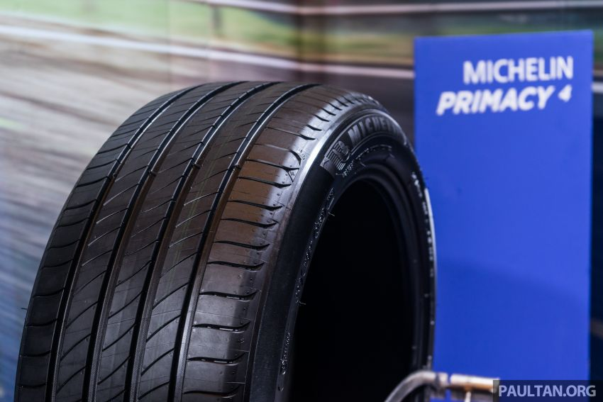 Michelin Primacy 4 launched, claimed to provide safety even when worn – 15- to 18-inch, fr RM444 per piece Image #836975