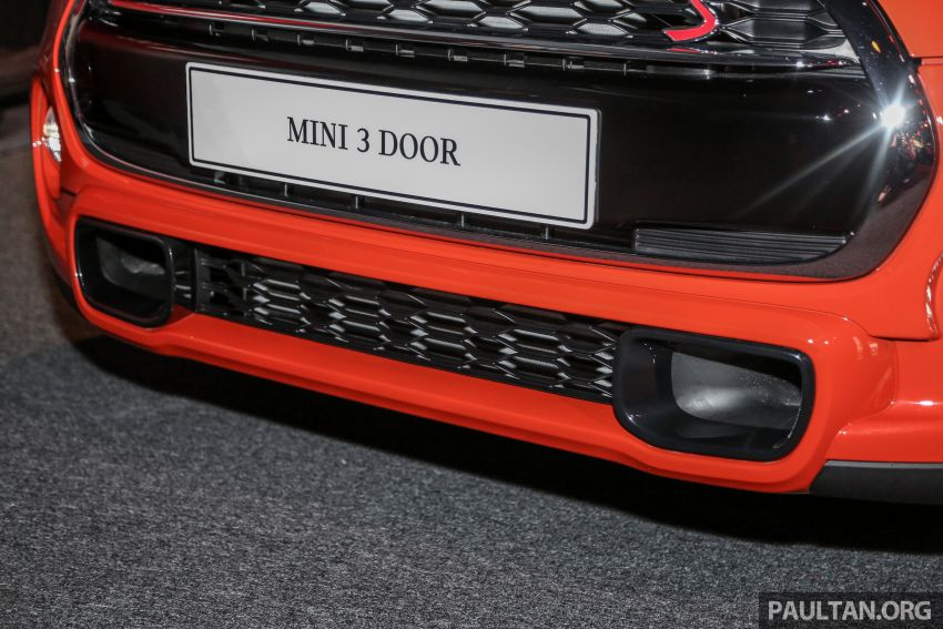 MINI Hatch facelift launched in Malaysia – Cooper S 3 Door and 5 Door, JCW 3 Door; RM227k to RM283k Image #838673