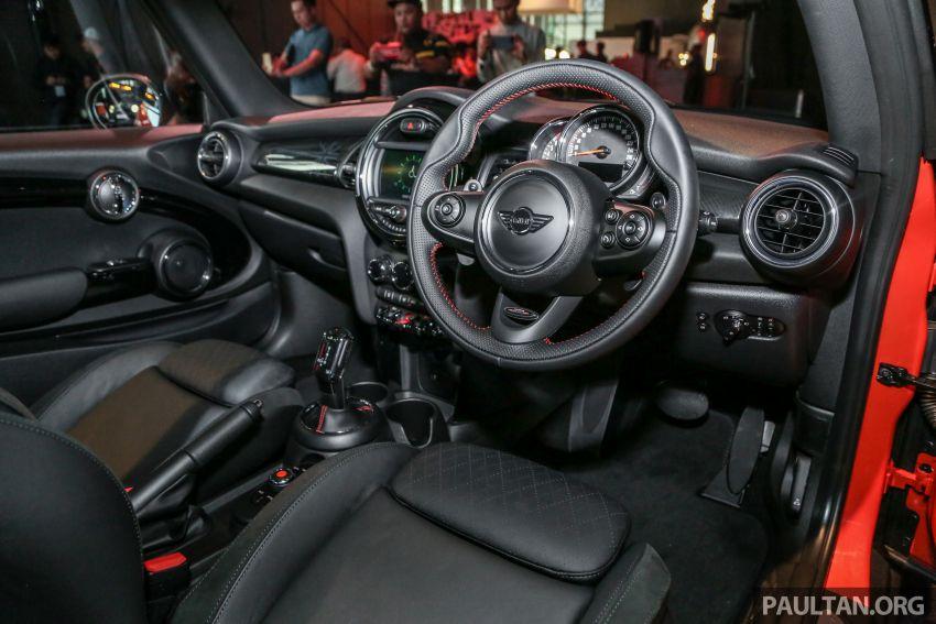 MINI Hatch facelift launched in Malaysia – Cooper S 3 Door and 5 Door, JCW 3 Door; RM227k to RM283k Image #838698