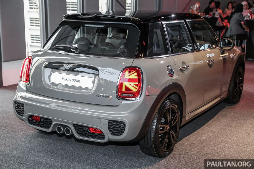 MINI Hatch facelift launched in Malaysia – Cooper S 3 Door and 5 Door, JCW 3 Door; RM227k to RM283k Image #838742