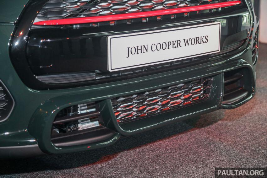 MINI Hatch facelift launched in Malaysia – Cooper S 3 Door and 5 Door, JCW 3 Door; RM227k to RM283k Image #838842