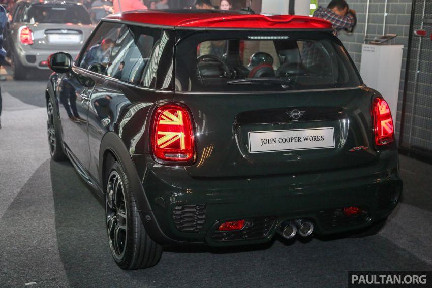 MINI Hatch facelift launched in Malaysia – Cooper S 3 Door and 5 Door, JCW 3 Door; RM227k to RM283k Image #838834