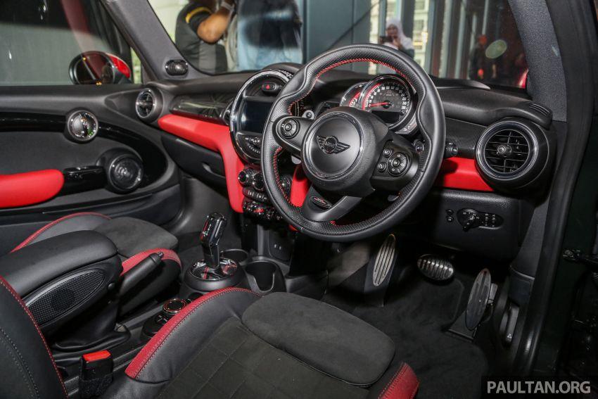 MINI Hatch facelift launched in Malaysia – Cooper S 3 Door and 5 Door, JCW 3 Door; RM227k to RM283k Image #838862