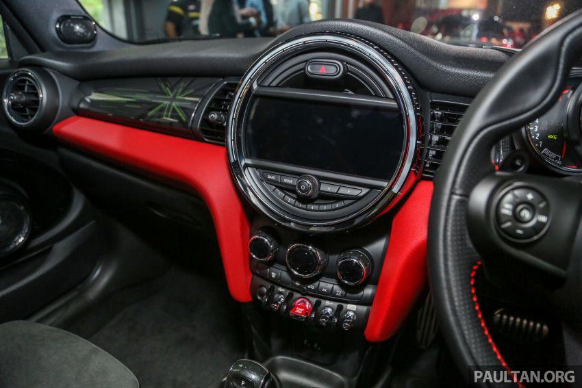 MINI Hatch facelift launched in Malaysia – Cooper S 3 Door and 5 Door, JCW 3 Door; RM227k to RM283k Image #838867