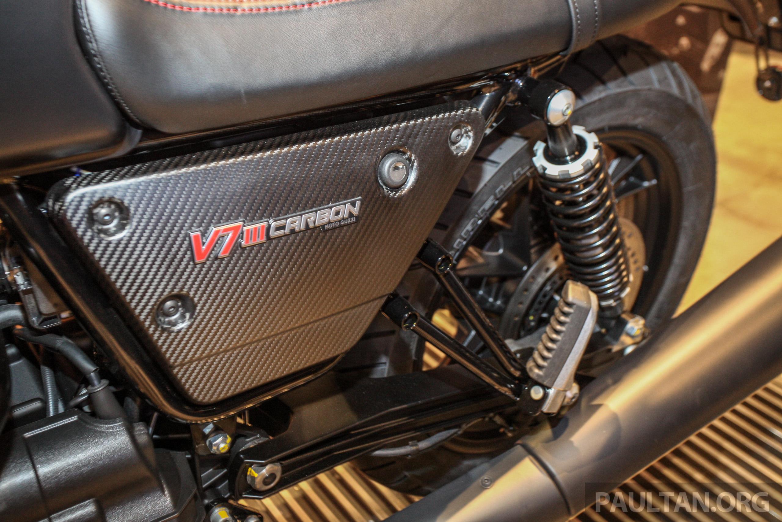 2018 Moto Guzzi V7 Iii Carbon In Malaysia Rm74900 Paul Tan