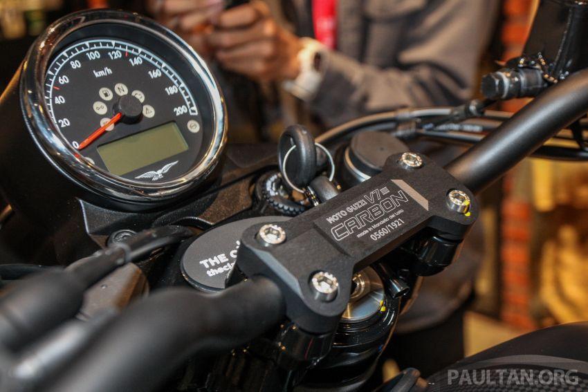 Moto Guzzi V7 III Carbon tiba di Malaysia – RM74,900 Image #839010