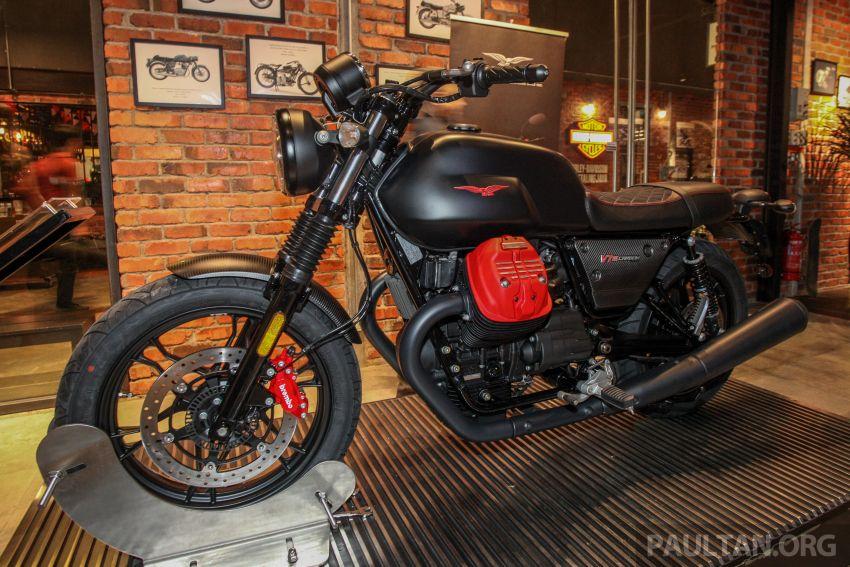 Moto Guzzi V7 III Carbon tiba di Malaysia – RM74,900 Image #838992