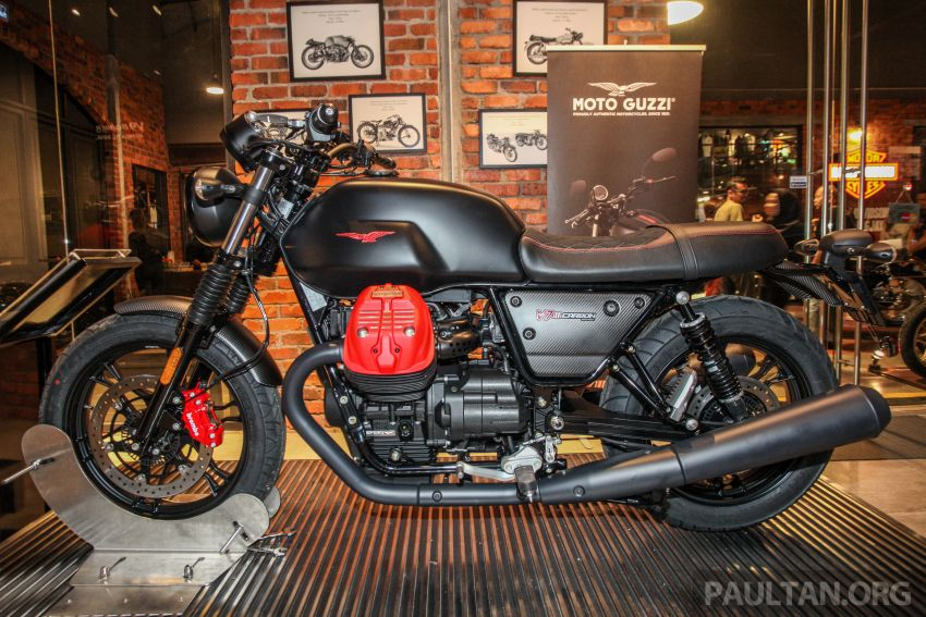 Moto Guzzi V7 III Carbon tiba di Malaysia – RM74,900 Image #838995