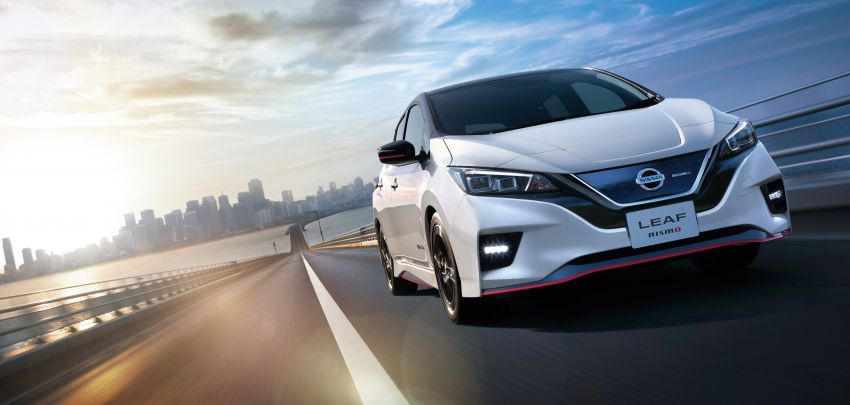 Nissan Leaf Nismo to go on sale in Japan on July 31 Image #841076