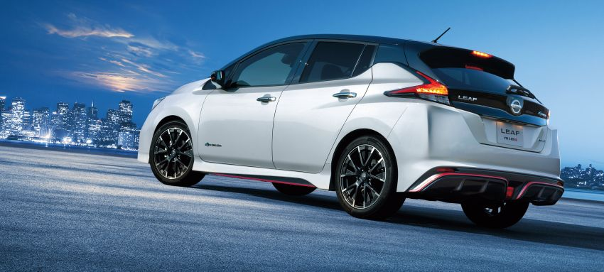 Nissan Leaf Nismo to go on sale in Japan on July 31 Image #841080