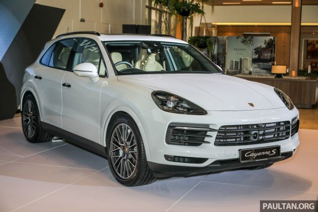 E3 Porsche Cayenne Launched In Malaysia Base And S Variants