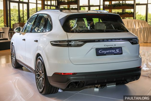 E3 Porsche Cayenne launched in Malaysia , base and S