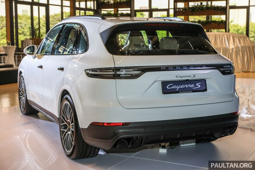E3 Porsche Cayenne launched in Malaysia – base and S variants available, prices start from RM745,000 Image #836721