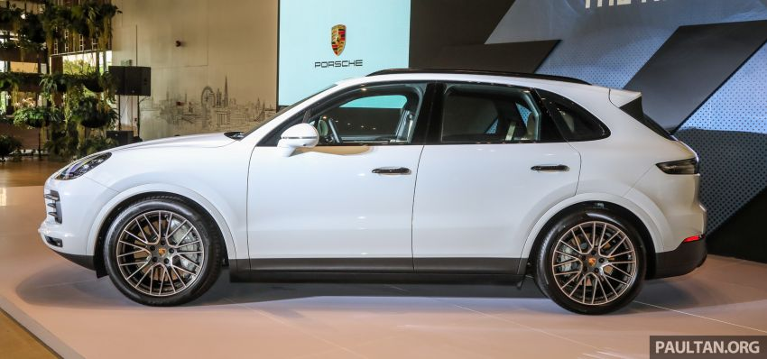 E3 Porsche Cayenne launched in Malaysia – base and S variants available, prices start from RM745,000 Image #836723