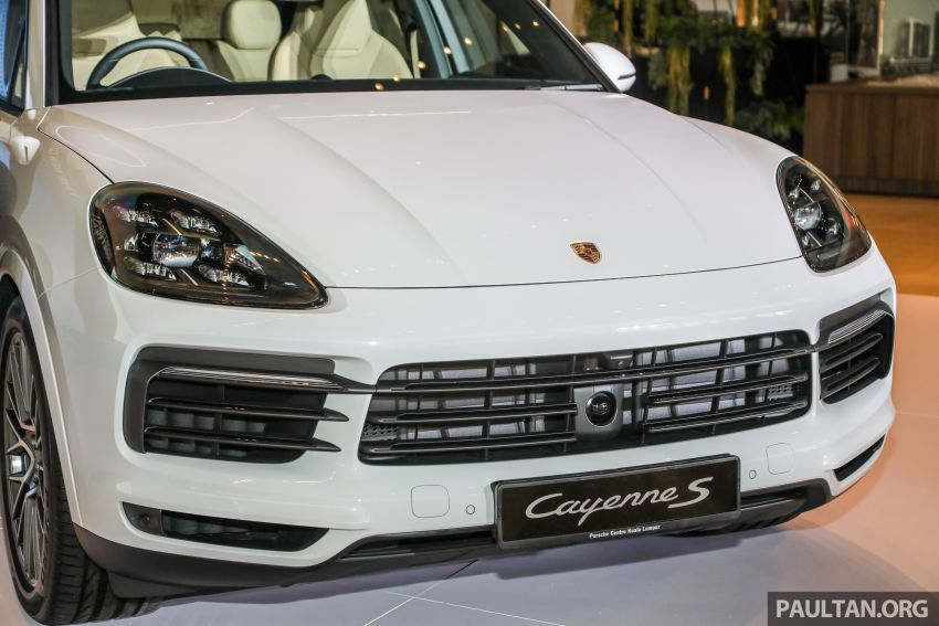E3 Porsche Cayenne launched in Malaysia – base and S variants available, prices start from RM745,000 Image #836730