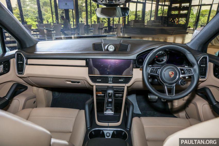 Porsche Cayenne generasi ketiga dilancar di Malaysia – dua varian ditawarkan, harga bermula dari RM745k Image #836858