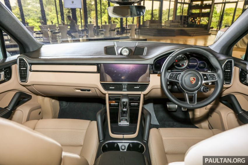 E3 Porsche Cayenne launched in Malaysia – base and S variants available, prices start from RM745,000 Image #836800