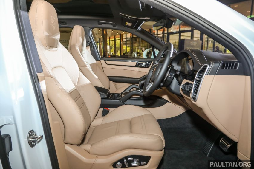 E3 Porsche Cayenne launched in Malaysia – base and S variants available, prices start from RM745,000 Image #836802