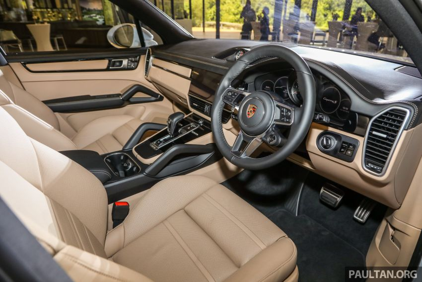 E3 Porsche Cayenne launched in Malaysia – base and S variants available, prices start from RM745,000 Image #836781