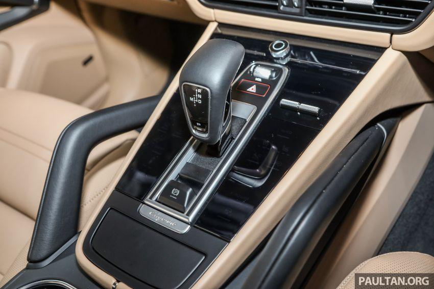 Porsche Cayenne generasi ketiga dilancar di Malaysia – dua varian ditawarkan, harga bermula dari RM745k Image #836866